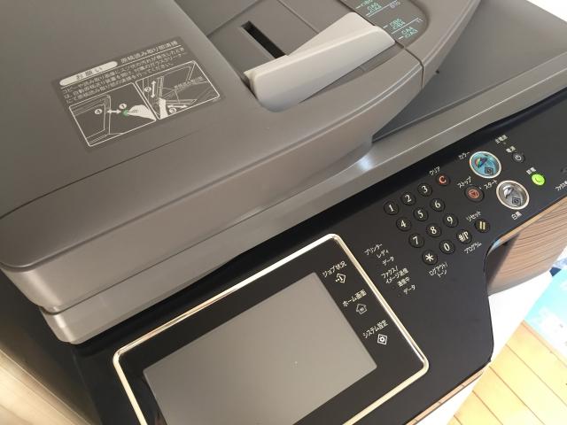 複合機のエラー時に印刷待ちを消去する手順は?