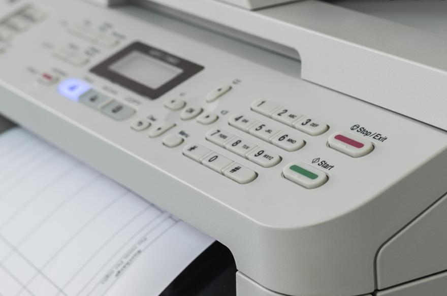 ボイスワープは電話だけではない!複合機でFAX転送をする方法!